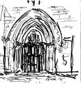 Eglise Saint Sauveur, portail oriental