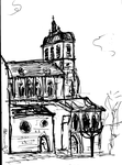 Figeac église Saint sauveur