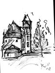 Figeac, ancienne maison à colombages