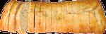 Chapata cortada - 450grs. Ideal para tapas o tostaditas.