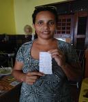 : Frau Joana Miguel, Mutter von Joao Miguel