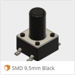 SMD 9.5mm Black