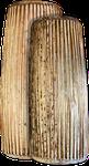 Tambour en tonneau oblongs. Maître d'œuvre/ouvrage : P. Kersalé. Facteur : Sok Houen. Phnom Penh 2012.