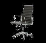 Chaise de conférence - Marque: Vitra - modèle Aluminium Chair EA 119