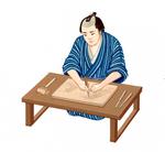 「小学道徳 生きる力」浮世絵彫師 原画 文教出版