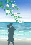葉室麟「潮騒はるか」幻冬舎 月間ポンツーン12月号最終回 原画