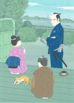 井川香四郎「芝浜しぐれ」寅右衛門どの江戸日記2・原画 2016
