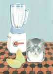 猫とミキサー グリ