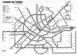 Liniennetz und Tarifplan der BVB 1968