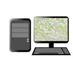MLAT-Software: Visualisierung der Flugzeugposition