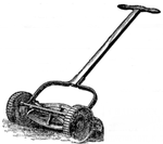 Lawnmower: Edwin Beard Budding, 1827