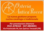 OSTERIA ANTICA ROCCA - SAN QUIRICO
