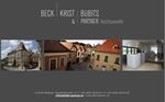 Website Rechtsanwaltskanzlei Beck/Krist/Bubits & Partner Mödling
