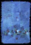 Schatzsuche / Oel auf Papier / 75 x 108cm / 2016