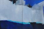 Hellas / 2 ( 120 x 160)cm / Acryl auf Textil / 2019