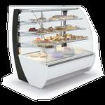 Vitrine boulangerie pâtisserie 4 niveaux vitrage bombée Montpellier