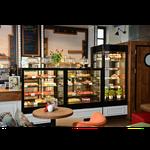 Vitrine réfrigérée présentation haute  boulangerie Montpellier