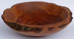 Naturrandschale aus Apfelholz,  ca. 38,5cm x 11cm
