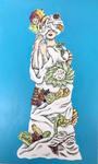A cake dress 41×24.2cm 2018