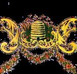 Fregio decorativo ottocentesco