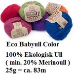 Marks och Kattens Eco Babyull color