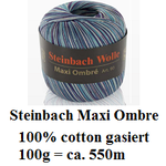 Steinbach Wolle Maxi Ombre