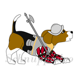 Burgwache Beagle