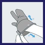 Der mikrobenresistente und antibakterielle Hygienehandschuh von Avotac