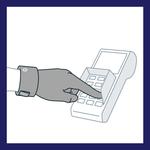Mit dem Hygienehandschuh von Avotac vermeidest du Kontakt im Alltag