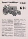 F12GH - Einführung 1952 (etwas größer als A5)