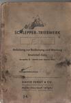 Getriebe-F28 Handbuch