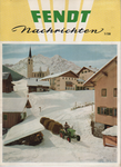 Erste Ausgabe der Fendt Nachrichten 1958