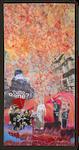 Tutto bene ? Collage auf Leinwand, 50 cm x 100 cm, 2018