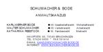 Kanzlei Schumacher & Bode