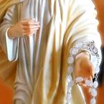 statua Madonna di Medjugorje - mani