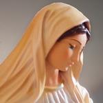 statua Madonna di Medjugorje  - volto