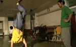 2007年平井ダンススタジオ『FREE』にて。B-BOYチーム「NAT」のみんなと。