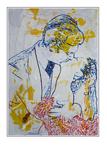 'Clark Gable and Vivien Leigh' Formaat (bxhxd): 80x120x3