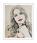 'First day with Sahar Moghadass' Size: 50x60x2