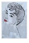 'Second day with Audrey Hepburn' Formaat (bxhxd): 70x100x3