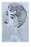 'Second day with Audrey Hepburn' Size: 70x100x3