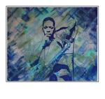 'John Coltrane blue train album cover' Formaat (bxhxd): 124x104x5