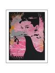 'Sixth day with Audrey Hepburn'  Formaat (bxhxd): 80x60x2