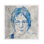 'First day with John Lennon' Size: 50x50x4