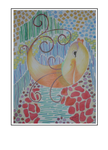 'Sweet singing fish' Formaat (bxhxd): 42x57x3