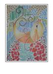 'Sweet singing fish' Size: 42x57x3