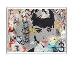 'First day with Audrey Hepburn' Formaat (bxhxd) 105x74x4