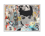 'First day with Audrey Hepburn' Size: 105x74x4