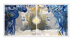 'Zen amour #1' Formaat (bxhxd): 200x100x2