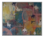 'Flashing colors' Size: 124x104x5